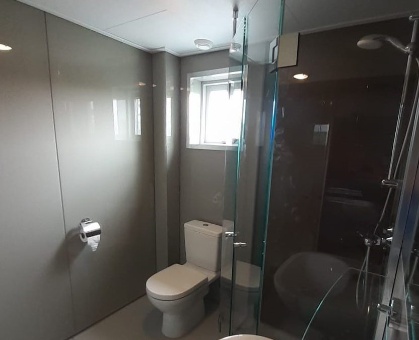Badkamer van…glas!