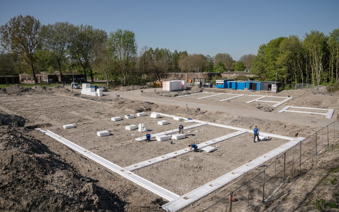 Start bouw 24 duurzame zorgwoningen