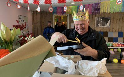 Hans Stalman 25 jaar in dienst bij Kesselaar & Zn